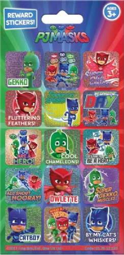 PJ Masks Reward Stickers